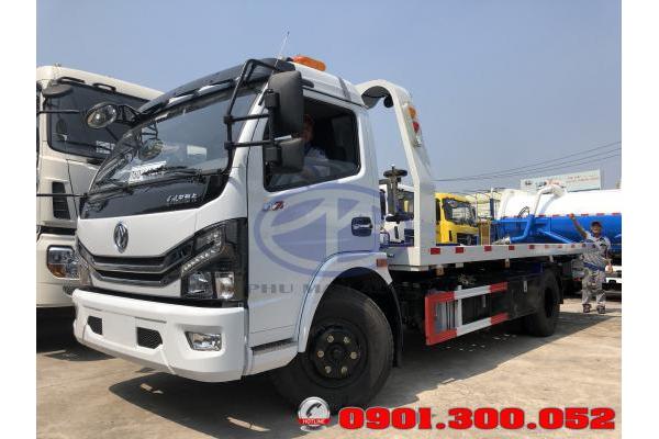 Đánh giá xe cứu hộ sàn trượt - xe tải chở xe Dongfeng 3.5 tấn 2019