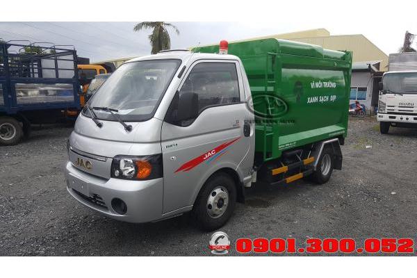 Xe chở rác Jac X150 1.5 tấn 3.4 khối